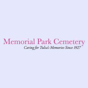 Memorial Park Cemetery In Tulsa Oklahoma logo