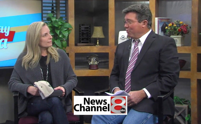 Channel 8 Good Day Tulsa – Interview with Erin Wambold