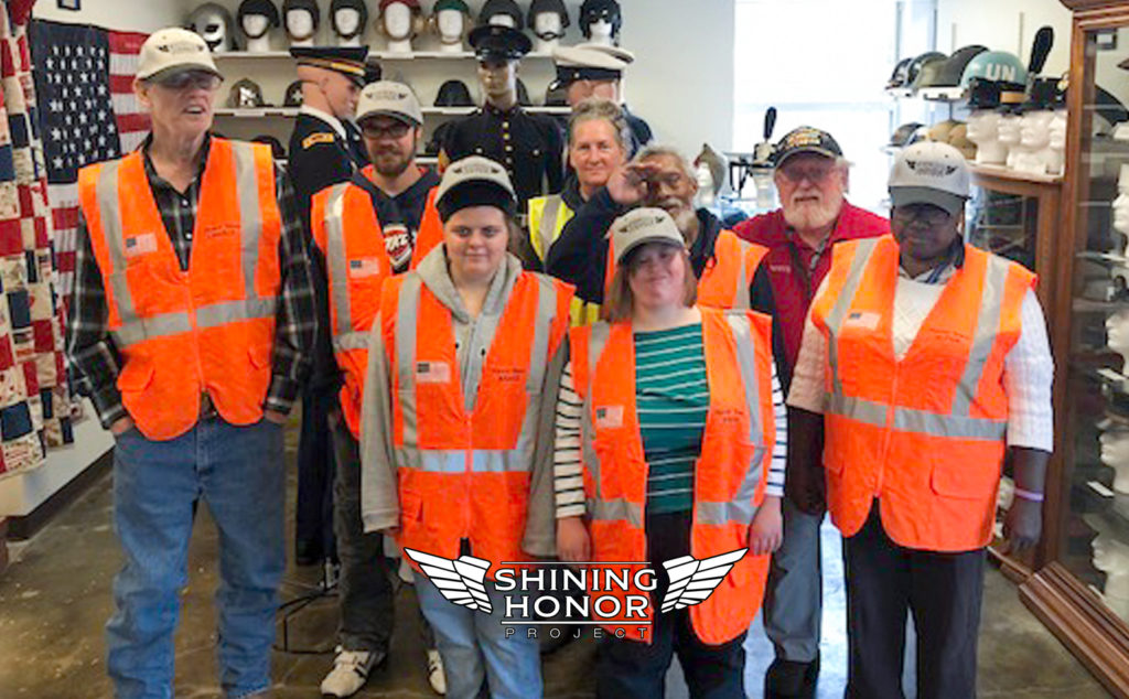 Honor Team members on a field trip in Oklahoma with the Shining Honor Project