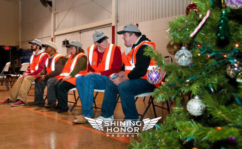 Christmas comes early at Shining Honor Project, but it was right on time
