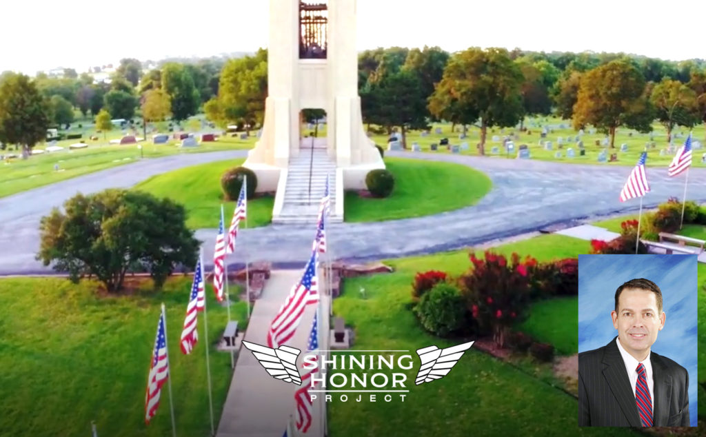 Memorial Park Cemetery and the Shining Honor Project in Tulsa, Oklahoma