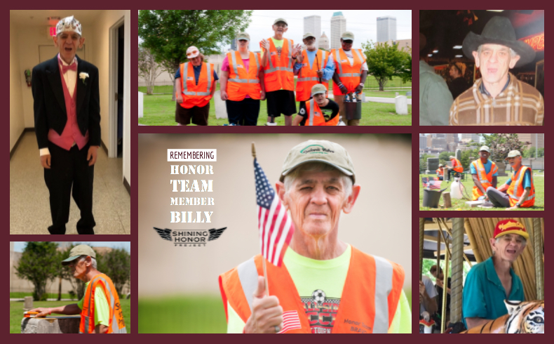 Remembering Honor Team member Billy