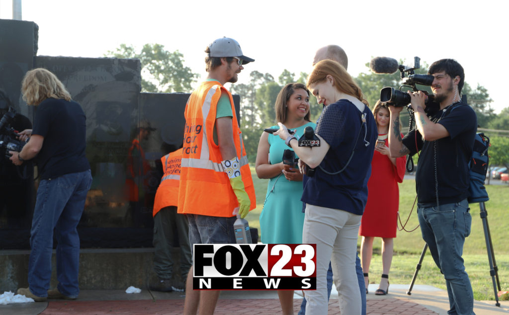 Fox 23 news coverage of Shining Honor in Tulsa