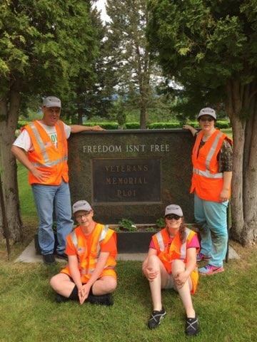 Montana Honor Team members, Shining Honor Project