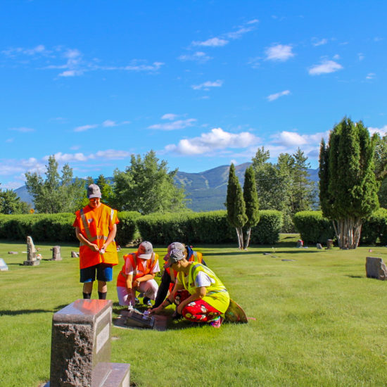 Shining Honor Project cleans and restores veterans headstones in Montana