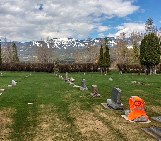 Whitefish City Cemetery in Montana, Shining Honor Project