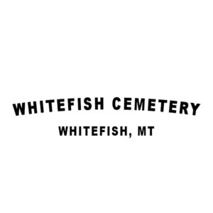 Whitefish Cemetery Logo