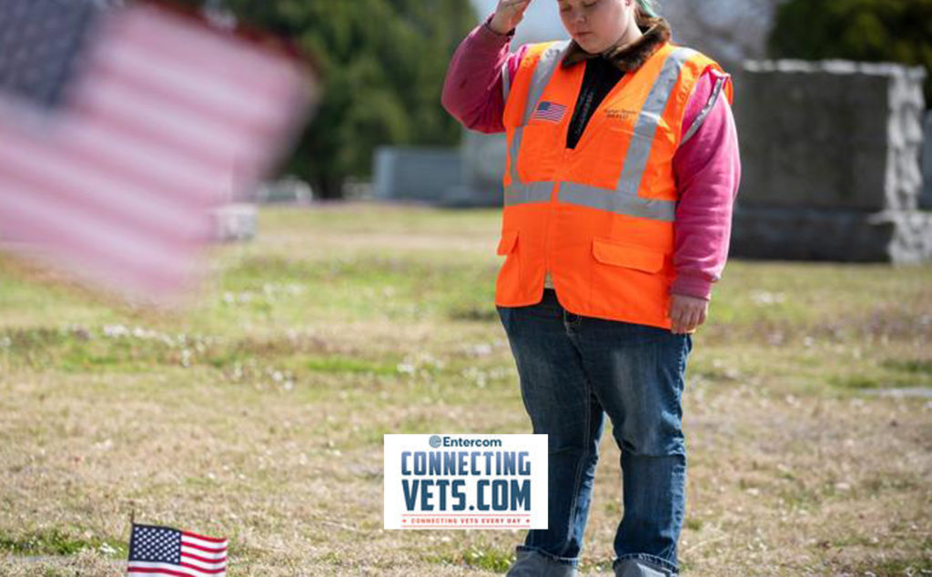 Shining Honor Project employs disabled adults to refurbish veteran's headstones - Connecting Vets